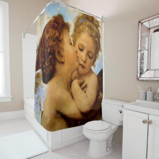 Erster Kuss Duschvorhang