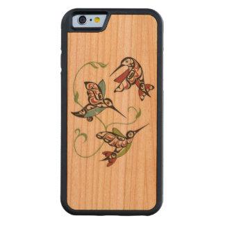 Erster Nations-Kolibri-Entwurf Bumper iPhone 6 Hülle Kirsche