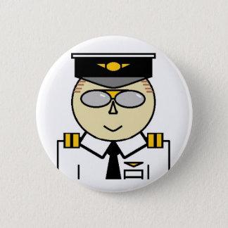 Erster Offizier-Knopf Runder Button 5,7 Cm