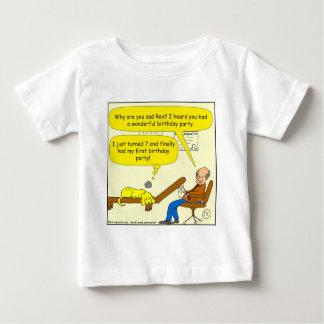 erster Party-Cartoon des Geburtstages 655 Baby T-shirt