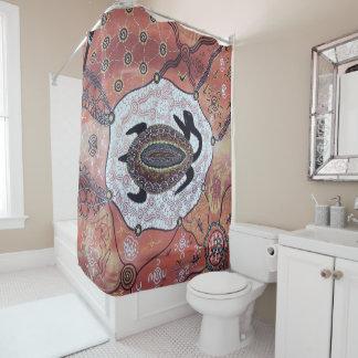 Erster Schildkröte-Duschvorhang Duschvorhang