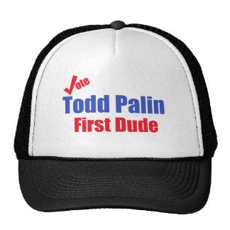 Erster Typ Todds Palin Retrokultkappen
