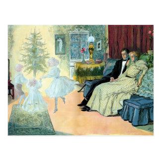 Erster Weihnachtsabend; eine Vision der Zukunft Postkarte