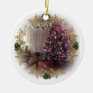 """""""Erster Weihnachtsbaum"""" Verzierung Rundes Keramik Ornament"""