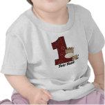 Erstes Geburtstags-Cowboy-Pferd T Shirt
