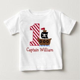 Erstes Geburtstags-Shirt des kundengerechten Baby T-shirt