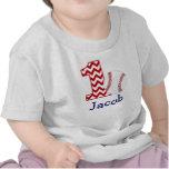 Erstes Geburtstags-Shirt des kundengerechten Baseb