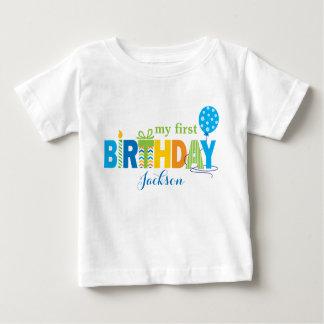 Erstes Geburtstags-T-Shirt personalisiert Baby T-shirt