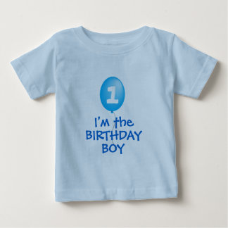 erstes Geburtstagsjungen-Shirt Baby T-shirt