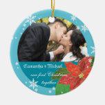 Erstes Geschenk des Poinsettia-Hochzeits-Paares We