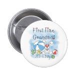 Erstes Mal-Großmutter-Baby Buttons