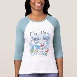 Erstes Mal-Großmutter der Jungen-T-Shirts und der