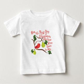 Erstes Tagesweihnachten Baby T-shirt
