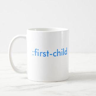 : Erstkind (es ist ein Junge!) Kaffeetasse