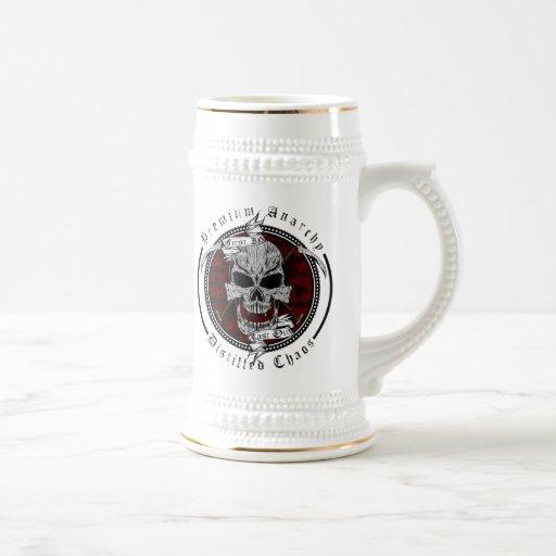 Erstklassige Anarchie Tee Tassen