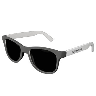 Erstklassige Schwarzweiss-Sonnenbrille Sonnenbrille