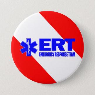 ERT - Notfallschutz-Team Runder Button 7,6 Cm