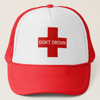 Ertrinken Sie nicht lustigen Neuheits-Leibwächter Truckerkappe