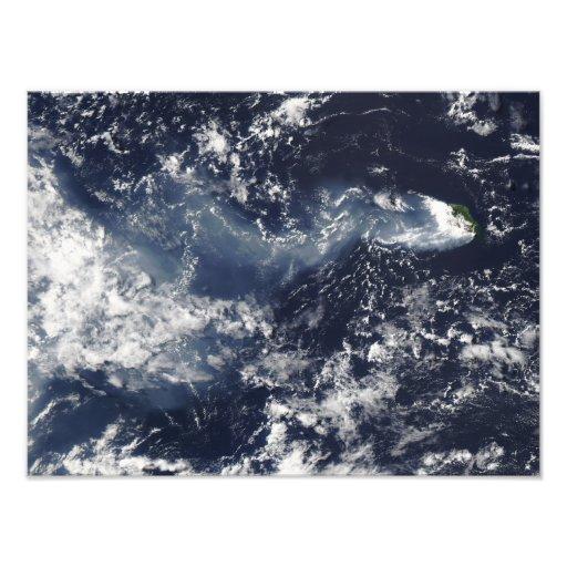 Eruption von Piton de la Fournaise, Wiedersehen Is Photographie