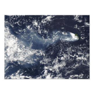 Eruption von Piton de la Fournaise, Wiedersehen Kunstphotos