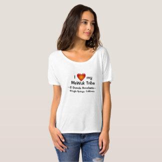 Erwachsen-Shirt Herz MeWuk Stamm-EL Dorado T-Shirt