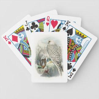 Erwachsene dunkle Grönland-Falke-Vögel von Bicycle Spielkarten