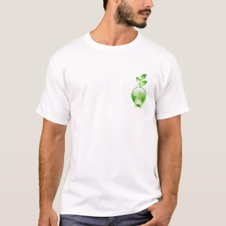 "Erwachsener grüner Superführer ""Grün ich "" T-Shirt"