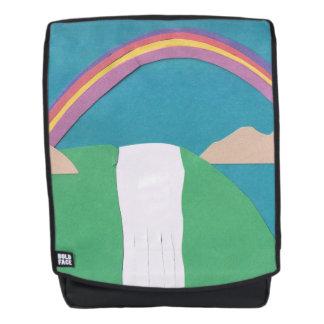 Erwachsener Rucksack mit Regenbogen-Entwurf