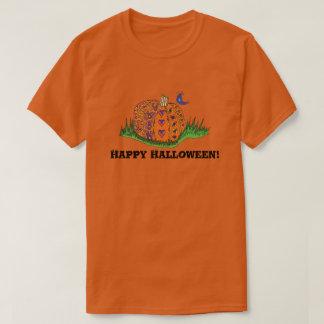 Erwachsenes Halloween-Kürbis-Shirt T-Shirt