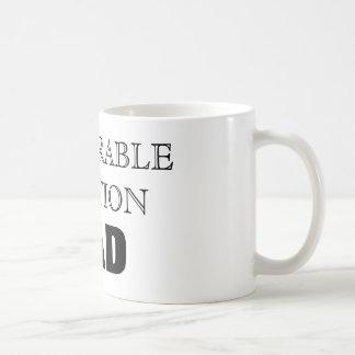 Erwähnungs-Vati Kaffeetasse
