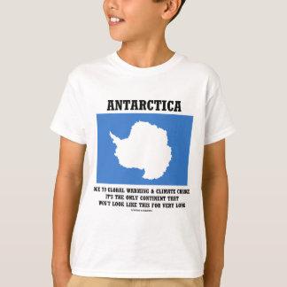 Erwärmungs-Klima-Änderungs-Kontinent der Antarktis T-Shirt