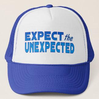 Erwarten Sie das unerwartete Truckerkappe