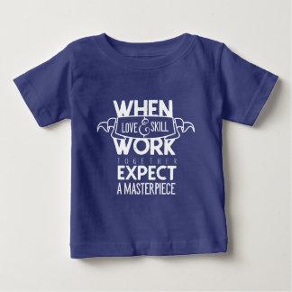 Erwarten Sie ein Meisterwerk Baby T-shirt