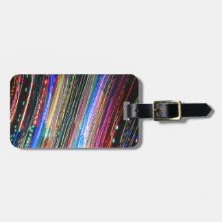 Erwartungs-Gepäckanhänger mit Lederband Kofferanhänger