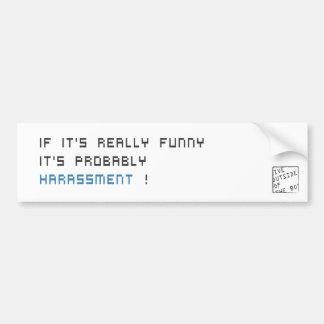 Erzählen Sie nicht diesen Witz Autoaufkleber