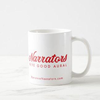 Erzähler geben gutes Ohren +Netz Kaffeetasse