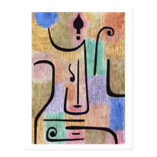Erzengel durch Paul Klee Postkarte