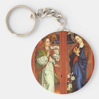 Erzengel Gabriel - Ankündigung - Schongauer Schlüsselanhänger