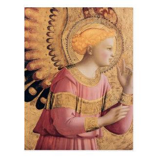 Erzengel Gabriel Fra Angelico- kündigen an Postkarte