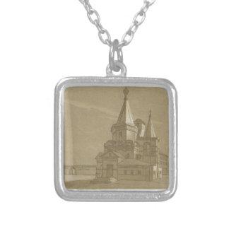 Erzengel-Kathedrale in Nischni Nowgorod Versilberte Kette