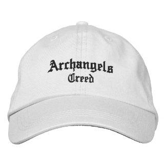 Erzengel-Kredokappe Bestickte Mütze