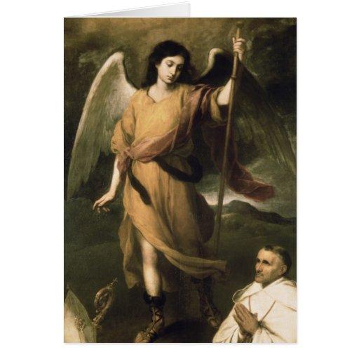 Erzengel-RAPHAEL mit Bischof Domonte Karten