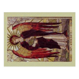 Erzengel Uriel Postkarte