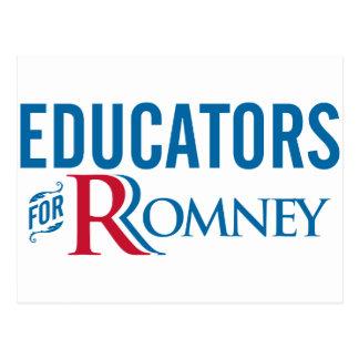 Erzieher für Romney Postkarte