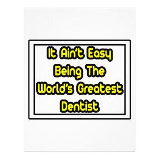 Es Aint der bestste Zahnarzt einfache… Welt Flyerdruck