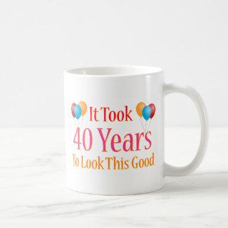 Es dauerte 40 Jahre, um gutes dieses zu schauen Kaffeetasse