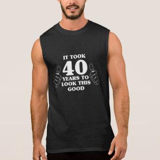 Es dauerte 40 Jahre, um gutes dieses zu schauen Kurzarm Shirt