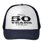 Es dauerte mir 50 Jahre, um diesen guten Kappe