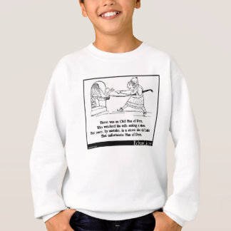 Es gab einen alten Mann von Peru Sweatshirt