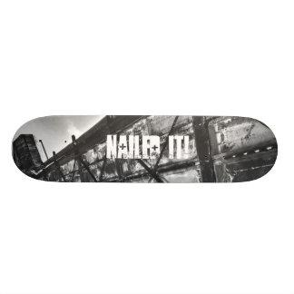 Es genagelt Skateboard-Plattform Skateboarddeck